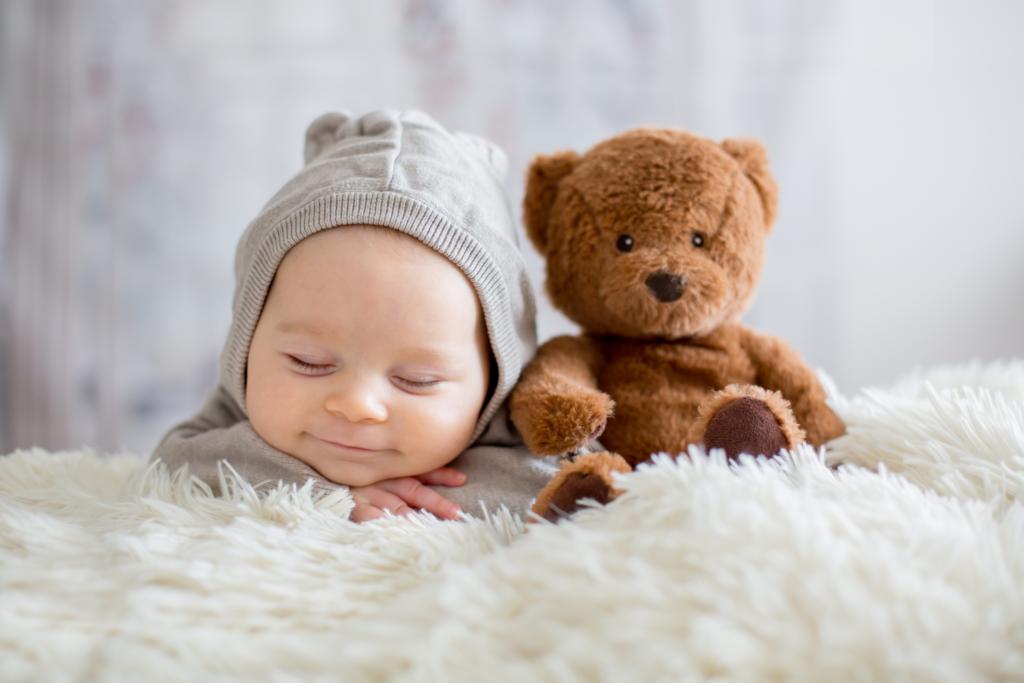baby and bear - Barbara Weissenmayer - Distance Healing